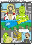 Deviant Universe Freedom War: Face-Off page 1 by backerman