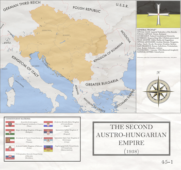 Monarchy over the Danube 1938-39 by mdc01957