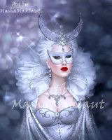 Moonlight mask by mashamaklaut