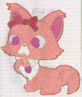 Jewelpet Garnet by Alice-of-Africa