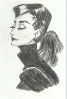 Audrey Hepburn by WDMofficial