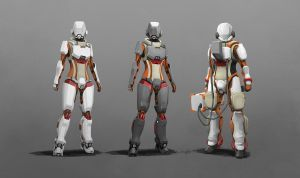 Combat EVA Suit (Elite) by longgi