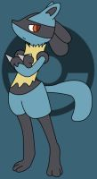 Lucario (Pokemon) by aabarro13