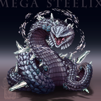 Type Collab: Mega Steelix