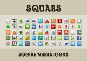 Squaes Icon Pack by Kalushary