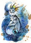 Pokemon Vaporeon O Ka Fee by RubisFirenos