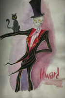 journal page #023 - Itward   -  [Fran Bow] by AmberSquash