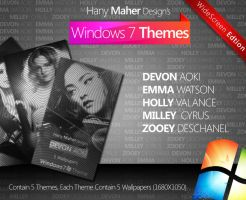 Windows 7 Themes Pack 1 - Wide by Domino333