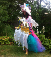 Mohawked P.Celestia Cosplay by Ho-ohLover