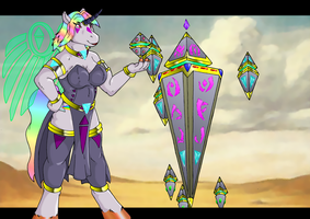 Lady Prisum and Spire Of Destiny. by QuickTron