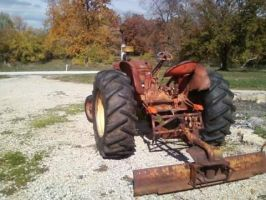Allis Chalmers WD45 by orearfarm