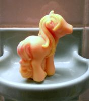 Banana Sugar Pony Soap by the-beth