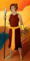 Rhetia the Cup Bearer-Colored by AnagramRMX