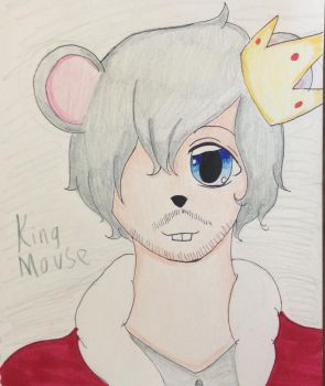 Oc number 1, King mouse  by Ramengirl2004