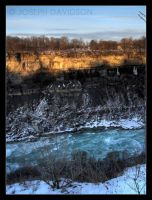 Canyon HDR by bubbabyte