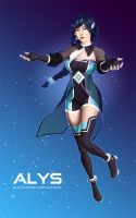 ALYS the first French-Speaking VOCALOID by Elnawen