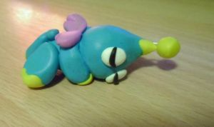 Sleeping Chao by delicioustrifle