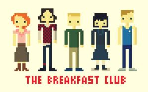 the breakfast club - 8bit by viitormartins
