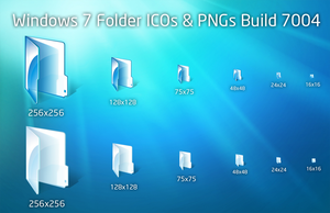 Windows 7 Folders Build 7004 by Z08-Styles