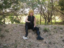 Mello Cosplay WITH SCAR by MightyNugget