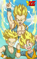 Gotenks Colored by Quatre4