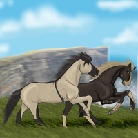 Contest Entry: Equinus by Haunches