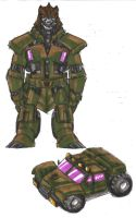 Crocobot Bludgeon by Jochimus