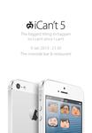 I can't Poster by gogman