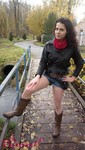 Claire Redfield RE2 result screen outfit I by Rejiclad