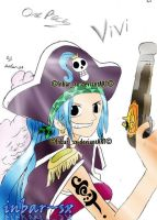Vivi the pirate-color by knight-sx