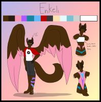 Ref Sheet: Enkeli by Agents-Of-Otachi
