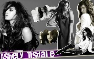 Wallpaper de Ashley Tisdale - Con Gifs by AreliCyrusBieber