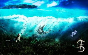 Exploring The Sea by f3lipedesigns