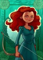 Merida by danidraws