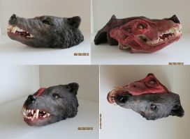 Wolf head by Traume7