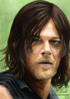 Daryl Dixon by martianpictures