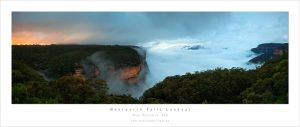 Dawn, Wentworth Falls, BM by MattLauder
