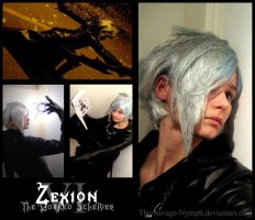 Zexion - The Cloaked Schemer by The-Savage-Nymph