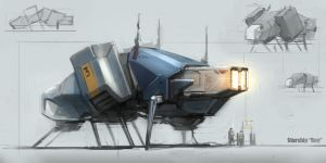 space_ship_sketch_0013 by ksenolog