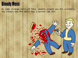 Fallout - Bloody Mess by oloff3