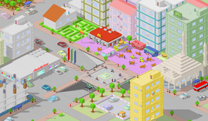 pixel piazza by ozyre