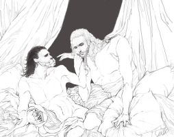 thor and loki by seleee