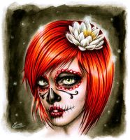 Miss Skull by EnysGuerrero