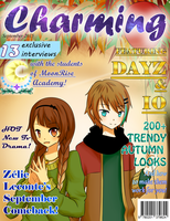 Charming Cover September 2015 by MidnightFlamePie