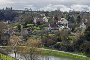 View Falaise Calvados France by hubert61