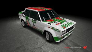 Abarth 131 Rally Italia by OutcastOne