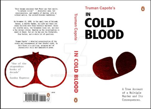 Penguin book cover entry - In cold Blood by grantd123