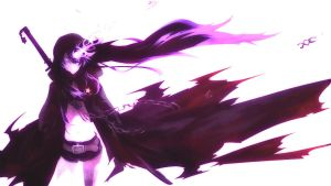 Black Rock Shooter (purple) by Halokiller485