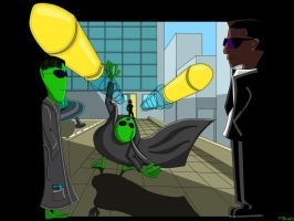 Matrix Meets MIB by bra1n