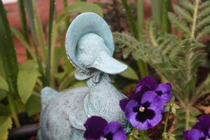Jemima Puddle Duck by here-and-faraway